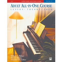 Alfred AL0014514 Alfred's Basic Adult Piano Course All-in-One Level 2