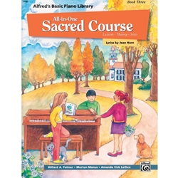 Alfred All-in-One Sacred Course for Children Book 3; 00-14560