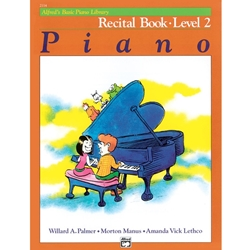 Alfred Recital Book Level 2; 00-2114