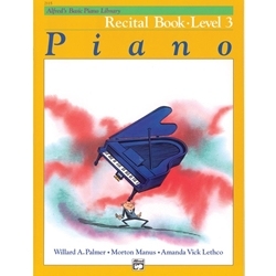 Alfred Recital Book Level 3; 00-2115