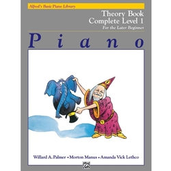 Alfred Theory Book Complete Book Level 1; 00-2235