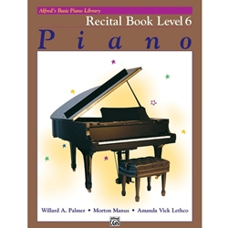 Alfred Recital Book Level 6; 00-2499