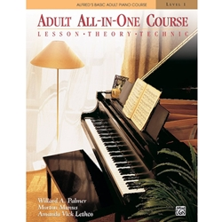 Alfred Adult All-In-One Piano Course Book Level 1; 00-5753