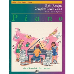 Alfred Sight Reading Complete Book Level 2; 00-5761