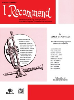 Bass Clarinet I Recommend