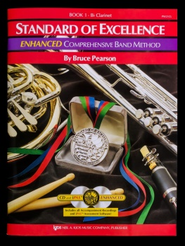 Clarinet Standard of Excellence Enhanced Version Book 1