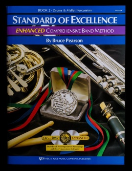 Drum and Mallet Percussion Standard of Excellence Enhanced Book 2