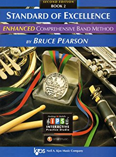 Baritone Saxophone Standard of Excellence Enhanced Book 2
