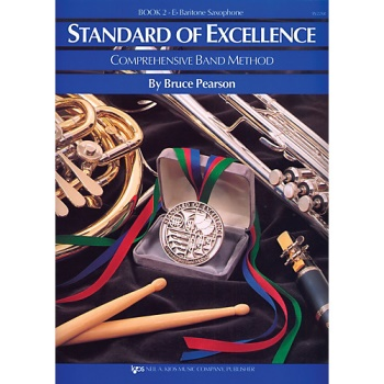 Baritone Saxophone Standard of Excellence Book 2