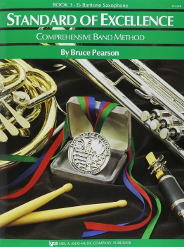 Baritone Saxophone Standard of Excellence Book 3