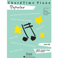 ChordTime Piano Popular; FF1004