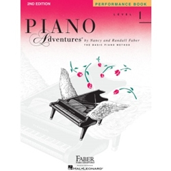 Faber Piano Adventures Performance Book Level 1; FF1080