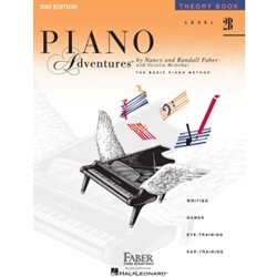 Faber Piano Adventures Theory Book Level 2B; FF1085
