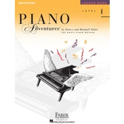 Faber Piano Adventures Lesson Book Level 4; FF1090