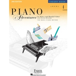 Faber Piano Adventures Theory Book Level 4; FF1091