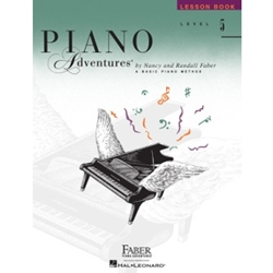 Faber Piano Adventures Lesson Book Level 5; FF1093