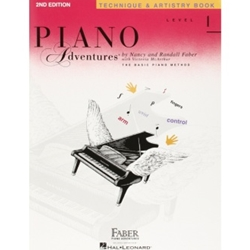 Faber Piano Adventures Technique & Artistry Level 1; FF1097