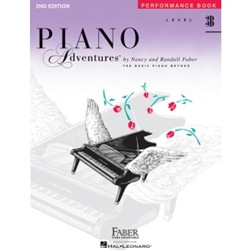 Faber Piano Adventures Performance Book Level 3B; FF1182