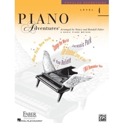 Faber Piano Adventures Popular Repertoire Level 4; FF1315
