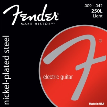 Fender Super 250's Light Electric Guitar String Set