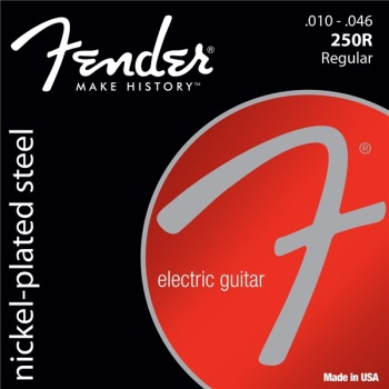 Fender Super 250's Regular Electric Guitar String Set