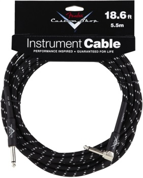 Fender Custom Shop 18.6' RA to St. Performance Series Instrument Cable