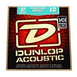 Dunlop Phosphor Bronze Light Acoustic Guitar String Set
