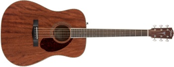Fender PM-1 Standard Paramount Dreadnought Mahogany Acoustic Guitar