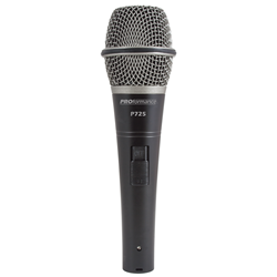 PROformance P725 Supercardioid Dynamic Handheld Microphone