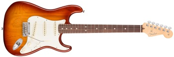 Fender American Professional Stratocaster; Rosewood Neck Electric Guitar