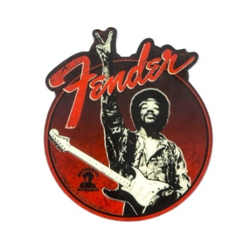 "Fender Jimi Hendrix Collection ""Peace Sign"" Magnet"