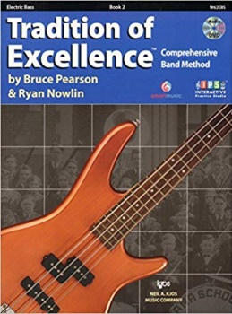 Electric Bass Tradition of Excellence Book 2