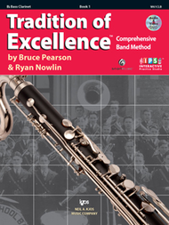 Bass Clarinet Tradition of Excellence Book 1