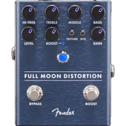 Fender Full Moon Distortion Electric Guitar Effects Pedal; 0234542000