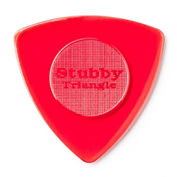 Jim Dunlop TRI Stubby Guitar Pick - 6 Pack -