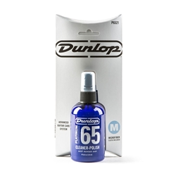 "Jim Dunlop P6521 Platinum 65 Cleaner Polish With 7"" Cloth"