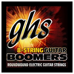 GHS GBTNT8 8 String Electric Guitar Set Thin-Thick 10-80