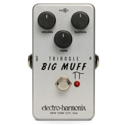 Electro Harmonix Triangle Big Muff Pi Distortion/Sustainer Electric Guitar Effects Pedal
