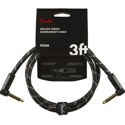Fender Deluxe Series 3ft Ang/Ang Instrument Cable