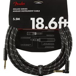 Fender Deluxe Series 18.6ft Str/Ang Instrument Cable