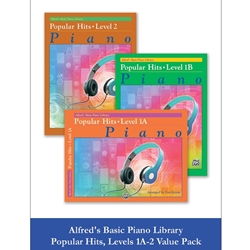 Alfred Popular Hits Level 1A-2 Value Pack; AL00106531