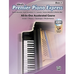 Alfred Piano Express All-In-One Accellerated Course Book 3; 00-46067