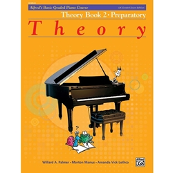 Alfred's Basic Graded Piano Course, Theory Book 2 Preparatory; 20185UK