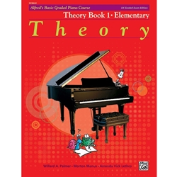 Alfred's Basic Graded Piano Course, Theory Book 2 Elementary; 20184UK