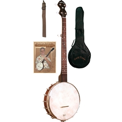 Gold Tone Cripple Creek Old Time Banjo Package; CCOT