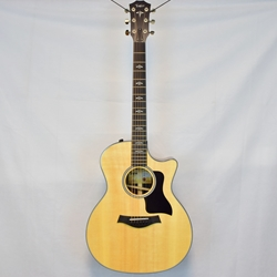 Taylor E14ce Ebony Grand Auditorium Acoustic/Electric Guitar